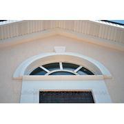 Арка на фасад из пенополистирола с армирующим покрытием фото