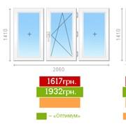 Керчь.Металлопластиковые окна Vikra 3 камеры. фото