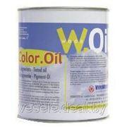Красящее масло для дерева COLOR.OIL (Старый дуб,тик,светлый орех,вишня,черный,серый) фото