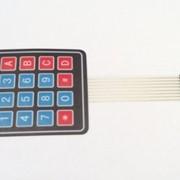 Кнопка мембранные 4x4 фото