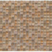 """Мозаика из натурального """"Мрамора и стекла"""" DAF 8 фото"""