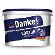 Штукатурка «барашек» Deutek Danke Kontur 15, 30 кг фотография