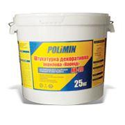 Штукатурка Polimin АК 20 фасадная (акрил) короед зерно 2,0мм фото