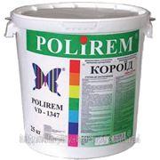 POLIREM VD 1347 — штукатурка акриловая короед (зерно 2-2,5 мм) фото