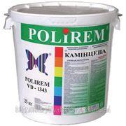 POLIREM VD 1343 — штукатурка акриловая барашек (зерно 1,5 мм) фото