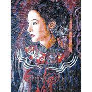 Картины из мозаики Китай фото