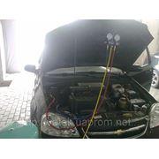 Заправка автомобильных кондиционеров в Донецке фото