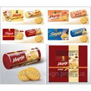 Разработка дизайна упаковки, этикетки печенья фото