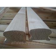 Деревянные элементы лестниц: Перила из сосны 70х43мм, длина 3 м, сорт Экстра фото
