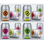 Разработка дизайна бутылки, упаковки, этикетки напитков фото