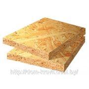 OSB (Oriented Strand Board) или ОСП (ориентированно-стружечная плита) фото