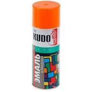 Краска эмаль Алкидная (KUDO) 520 мл оранжевая фото