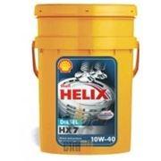 Shell Helix Diesel HX7 10W-40 налив