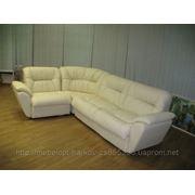 Офисный кожаный диван Харьков. Диваны Визит. Офисные диваны купить Харьков фото