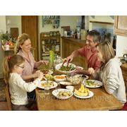 Организация и проведение семейного ужина фото