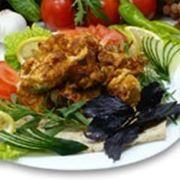Мариннованное мясо Шашлык куриный фото