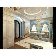 Классический дизайн в стиле барокко Донецк фото