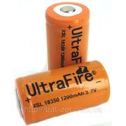 Аккумулятор Ultrafire 18350 Li-Ion 1200 mAh 3,7V фото