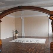 Деревянная межкомнатная арка фото