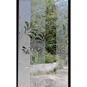 Витраж полимерный по технологии CadRam, оконные фото