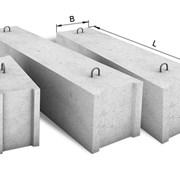 Фундаментный блок ФБС 2,4х0,5х0,6. фото