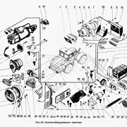 Электрооборудование трактора фото