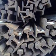 Рельсы железнодорожные узкой колеи Р50 б/у, до 2 мм фото
