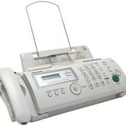 Телефон Panasonic KX-FP207RU факс (A4, обыч. бумага) фото