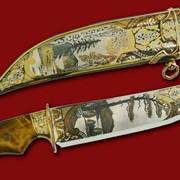 Нож Природа Урала 383*210*46*4 фото