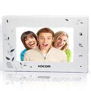 KOCOM KCV-A374LE white домофон цветной фото