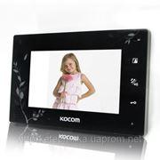 KOCOM KCV-A374LE black домофон цветной фото