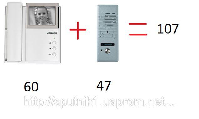 Домофон commax 4-HP2