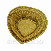 Хлебница с расширен. краями в виде сердечка (19*19*Н5), арт. 895632 фото