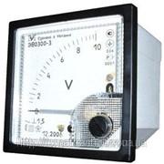 Вольтметр переменного напряжения ЭВ0300 фото