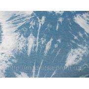 Джинс вареный облегченный (синий) (арт. 0471) фото