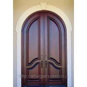 Дерев'яні двері, двері у храм, купити двері з дерева П4