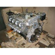 Двигатель КамАЗ 740 (220л. с. ) в сборе без стартера (пр-во КамАЗ) фото