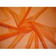 Стрейч-сетка оранжевая фото