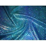 Бифлекс с напылением бирюзово-синий фото