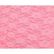 Стрейч-гипюр нежно-розовый фото