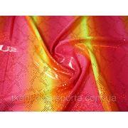 Бифлекс с напылением желто-красный фото