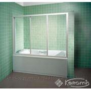Штора д/ванны Ravak AVDP 3-140 стекло Транспарент (40VM0102Z1)