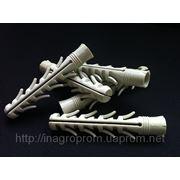 Дюбель ZUBR 16х100 mm усиленный 4 парами стопорных крыльев фото