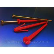 Дюбели рамные 10х200 mm WAVE четырехраспорные потай с ударным шурупом - ISO 9001, УКРСЕПРО, БЕЛСТАНДАРТ, РОССТАНДАРТ фото