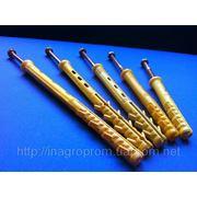 Дюбели БМ с шурупом глухарём М6 от 10х80 до 10х200 нагрузка 170-200 кг - ISO 9001 фото