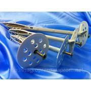 Дюбель для теплоизоляции с ударным шурупом TERMODUBEL 70-220диск d 70 mm UTD NS - ISO 9001, УКРСЕПРО фото