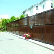 Въездные ворота Alutech фото