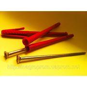 Дюбели рамные 10х180 mm WAVE четырехраспорные потай с ударным шурупом - ISO 9001, УКРСЕПРО, БЕЛСТАНДАРТ, РОССТАНДАРТ фото