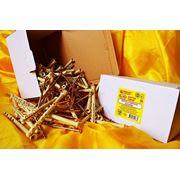 Дюбели WAVE 6х100 mm потай с ударным шурупом в картонной коробке - ISO 9001 фото