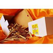 Дюбели WAVE 6х80 mm потай с ударным шурупом в картонной коробке - ISO 9001 фото